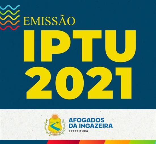 Emiss�o do IPTU 2021